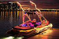 /images/133/2016-12-10-tempe-aps-lights-1dx_31680.jpg - #13213: Boat #40 at APS Fantasy of Lights Boat Parade … December 2016 -- Tempe Town Lake, Tempe, Arizona