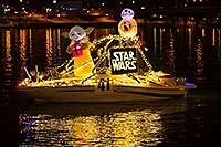/images/133/2016-12-10-tempe-aps-lights-1dx_32798.jpg - #13246: Boat #41 Star Wars at APS Fantasy of Lights Boat Parade … December 2016 -- Tempe Town Lake, Tempe, Arizona