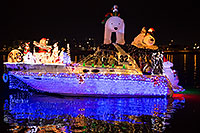 /images/133/2016-12-10-tempe-aps-lights-1dx_32996.jpg - #13250: Boat #32 Merry Christmas at APS Fantasy of Lights Boat Parade … December 2016 -- Tempe Town Lake, Tempe, Arizona