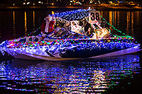 /images/133/2016-12-10-tempe-aps-lights-1dx_33145.jpg - #13252: Boat #38 with Santa Claus at APS Fantasy of Lights Boat Parade … December 2016 -- Tempe Town Lake, Tempe, Arizona