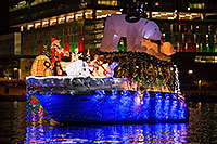 /images/133/2016-12-10-tempe-aps-lights-1dx_33536.jpg - #13260: Boat #32 at APS Fantasy of Lights Boat Parade … December 2016 -- Tempe Town Lake, Tempe, Arizona