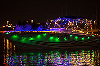 /images/133/2016-12-10-tempe-aps-lights-1dx_33631.jpg - #13265: Boat #01 at APS Fantasy of Lights Boat Parade … December 2016 -- Tempe Town Lake, Tempe, Arizona
