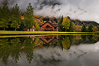 /images/133/2017-09-28-crested-house-mi100-a7r2_4000.jpg - #14092: House reflection in Crested Butte … September 2017 -- Crested Butte, Colorado
