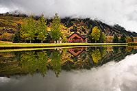 /images/133/2017-09-28-crested-house-mi100-a7r2_4030.jpg - #14095: House reflection in Crested Butte … September 2017 -- Crested Butte, Colorado