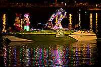 /images/133/2017-12-09-tempe-boats-lucla-5d4_1877.jpg - #14190: Boat #24 with Mickey and Minnie at APS Fantasy of Lights Boat Parade … December 2017 -- Tempe Town Lake, Tempe, Arizona