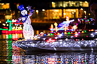 /images/133/2017-12-09-tempe-boats-lumi-5D4_1183.jpg - #14206: Boat with Snowman at APS Fantasy of Lights Boat Parade … December 2017 -- Tempe Town Lake, Tempe, Arizona