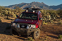 /images/133/2018-04-03-rita-xterra-1-m10_080.jpg - #14257: Xterra in evening light by Santa Rita Mountains, Arizona … April 2018 -- Santa Rita Mountains, Arizona