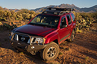 /images/133/2018-04-03-rita-xterra-m10_089.jpg - #14260: Xterra in evening light by Santa Rita Mountains, Arizona … April 2018 -- Santa Rita Mountains, Arizona