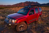 /images/133/2018-04-13-rita-xterra-im1-lq_0020.jpg - #14282: Xterra and last evening light on Santa Rita Mountains, Arizona … April 2018 -- Santa Rita Mountains, Arizona