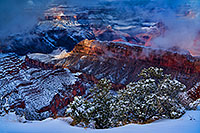 /images/133/2019-01-06-grand-fog-im77-a7r3_6775.jpg - #14538: Snow and fog at Grand Canyon … January 2019 -- Grand Canyon, Arizona