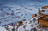 /images/133/2019-01-06-grand-fog-ton1-6to8-a7r3_6355.jpg - #14540: Snow and fog at Grand Canyon … January 2019 -- Grand Canyon, Arizona