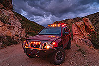 /images/133/2020-07-28-box-canyon-clouds-xterra-1to5-a7r3_29630.jpg - #14816: Monsoon clouds and Xterra in Box Canyon … July 2020 -- Box Canyon, Arizona
