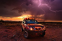 /images/133/2020-08-20-gv-xterra-lightning-55to7-a7r3_31154.jpg - #14828: Lightning and Xterra during monsoon thunderstorm … August 2020 -- Green Valley, Arizona