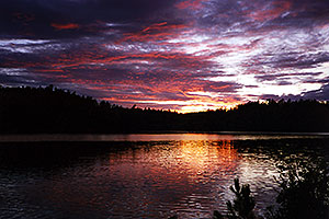 our first Temagami night at Rabbit Lake
