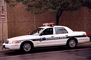 Minneapolis Police car
