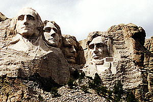 Mt Rushmore … Christina moving Chicago-Phoenix