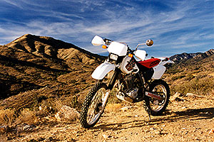 my Honda XR400 … Lake Pleasant to Crown King