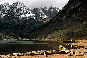 Maroon Lake (elev 9,580ft)