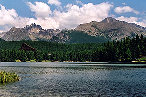 views of Strbske Pleso