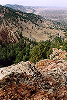 View from Buffalo Bill grave … May 2004