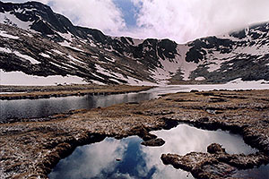Summit Lake at 12,800ft