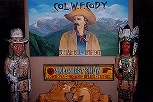 Buffalo Bill museum above Golden