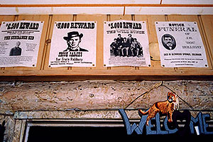 Buffalo Bill museum above Golden … Reward Sundance Kid, Jesse James, The Wild Bunch, Doc