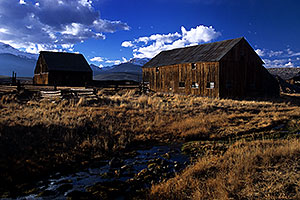shacks near Leadville