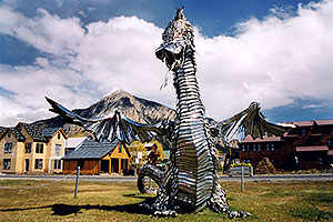 Crested Butte dragon