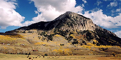 view of Mount Crested Butte