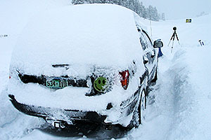 Super snow in Crested Butte … when 3ft of snow fell in 16 hours