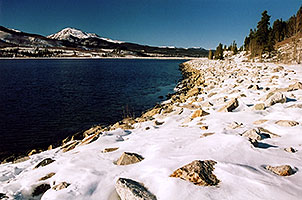 Mt Elbert Forebay, elevation 9,645 ft
