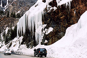 icicles near Ouray