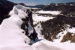March at Wolf Creek Pass