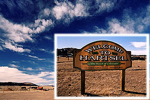 Hartsel, elevation 8,864 ft … in Park County, Colorado
