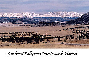 view from Wilkerson Pass towards Hartsel
