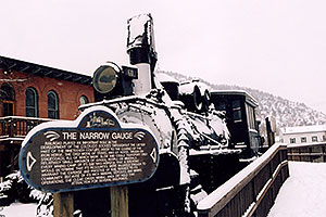 The Narrow Gauge Railroad … images of Idaho Springs
