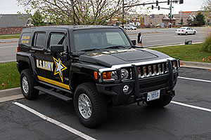 US Army Hummer H3 in Lone Tree