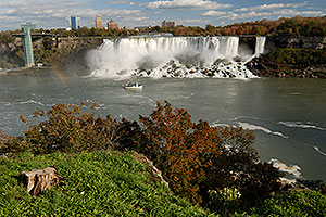 images of US side of Niagara Falls