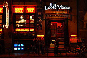 The Loose Moose Grill in Toronto
