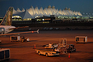 images of Denver airport