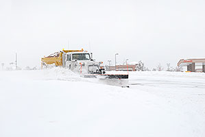 snowplow in Highlands Ranch