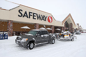 Safeway on Yosemite Rd and Lincoln Rd in Lone Tree