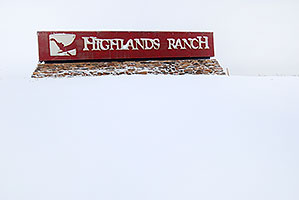 Highlands Ranch sign