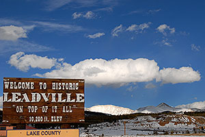 Welcome to Historic Leadville, On Top of it all, 10,200 ft elevation … images of Leadville