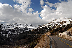 Xterra near top of Independence Pass