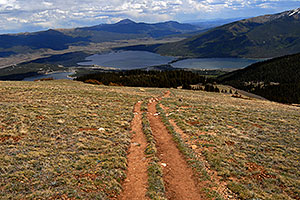 images along South Mt Elbert Trail