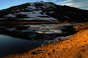 Reflection in Independence Pass lake