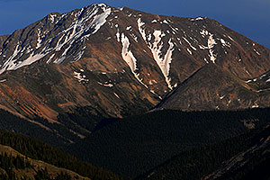 La Plata Peak from Highway 82