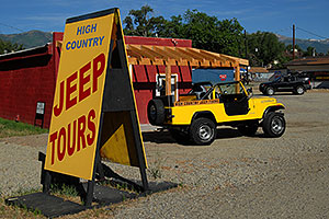 High Country Jeep Tours in Buena Vista